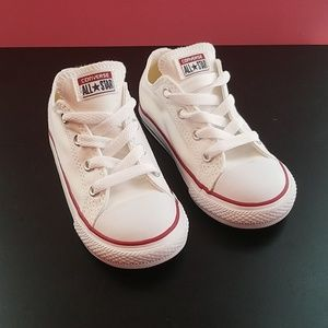 White Converse - Toddler Shoes